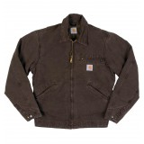 BLOUSON CARHARTT DETROIT DARK BROWN