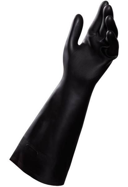 Gants neoprene long 450 1138 - Gant latex noir ...